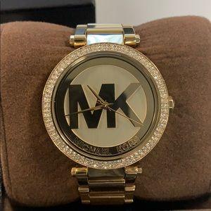 MICHAEL KORS Parker Gold Women's Watch MK5784